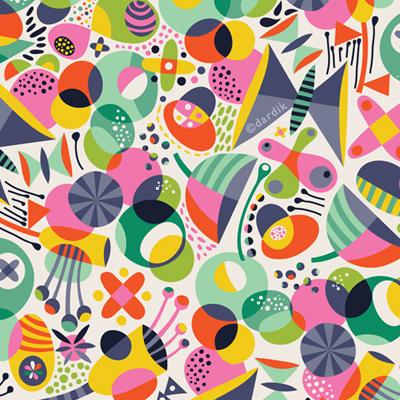 Last Week of August   - pattern by helen dardik