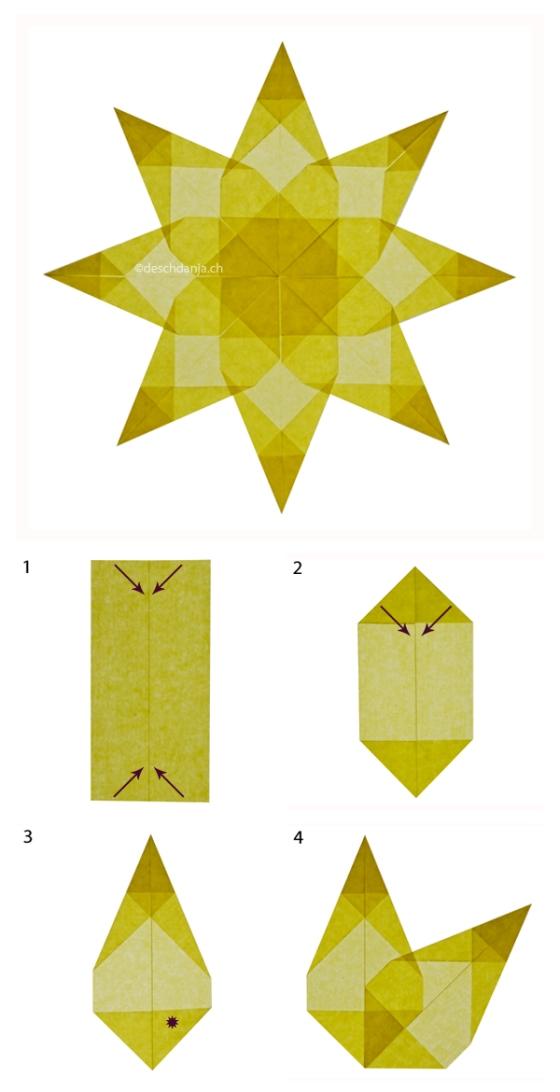 Collage Fensterstern gelb_web