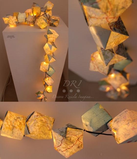 Luminaria Mapas Luces del mundo DRI