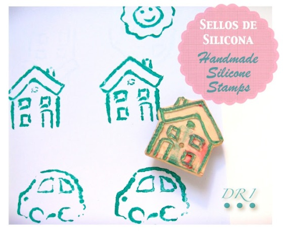 Sellos Silicona Handmade Siicone Stamps 1 DRI