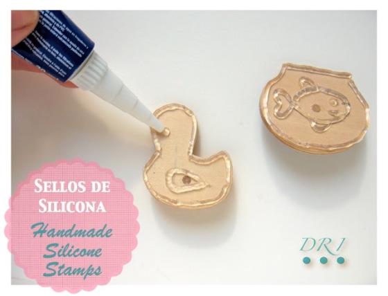 Sellos Silicona Handmade Siicone Stamps 2 DRI